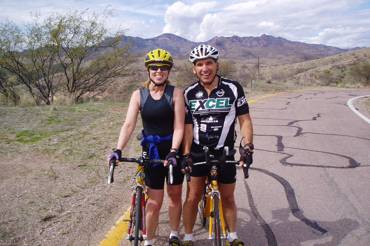 Chuck Graziano Desert Cycle Ride